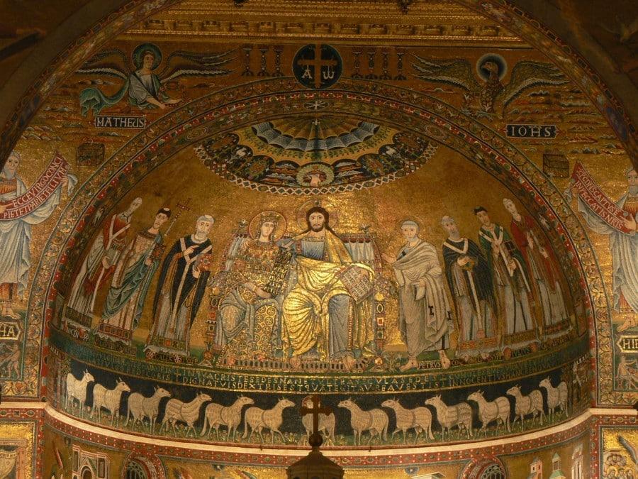 Santa Maria in Trastevere apse1